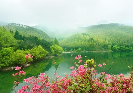 2黄柏山滴翠湖